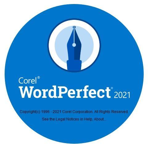 Corel WordPerfect 2021, use with Graphcat Photo Cataloger